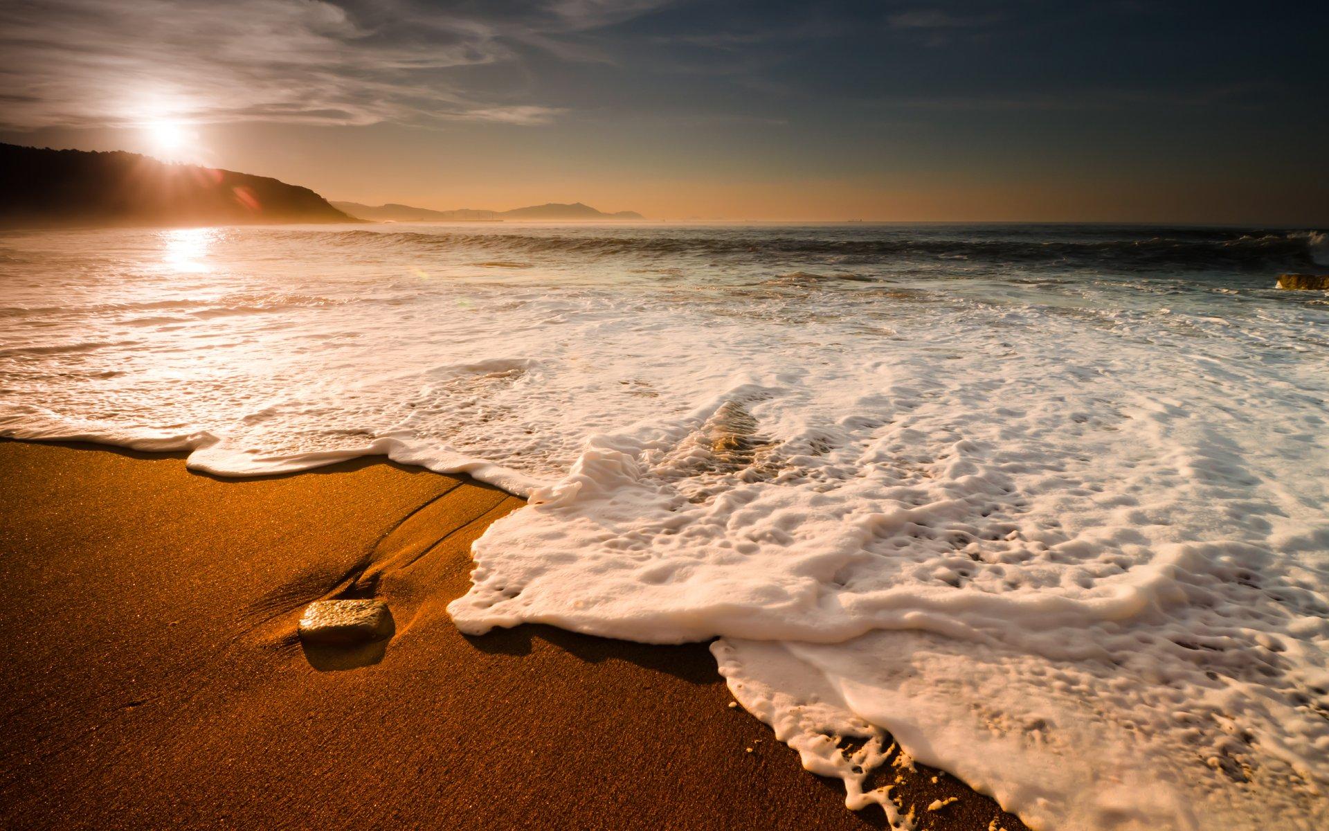 Обои волны. Пейзажи foto 19
