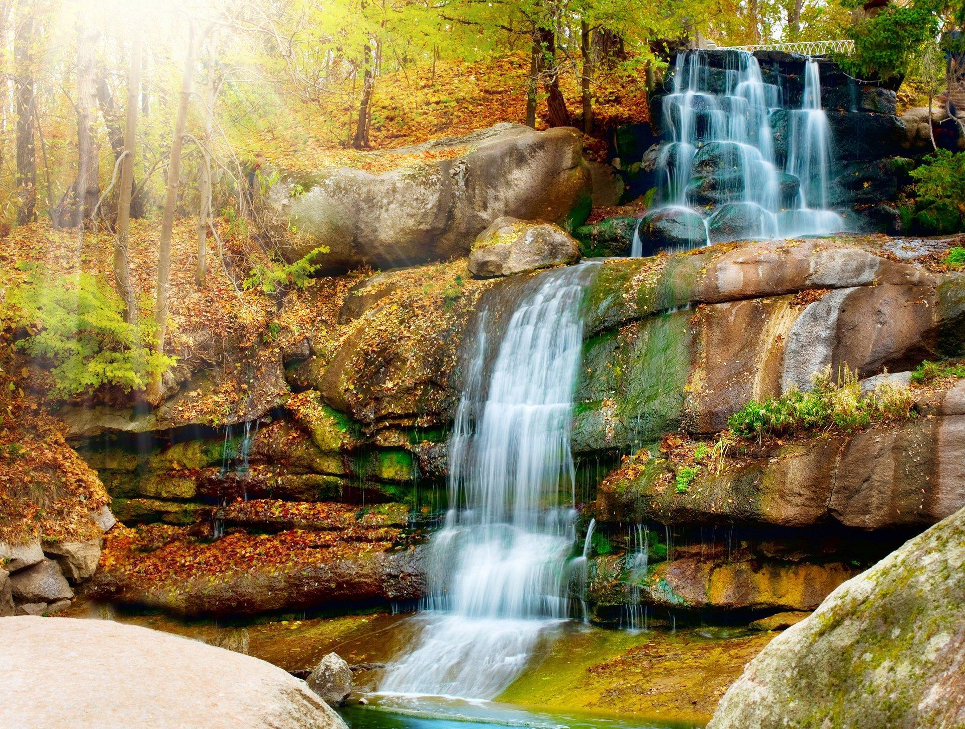 Картинки красивые природа и водопад