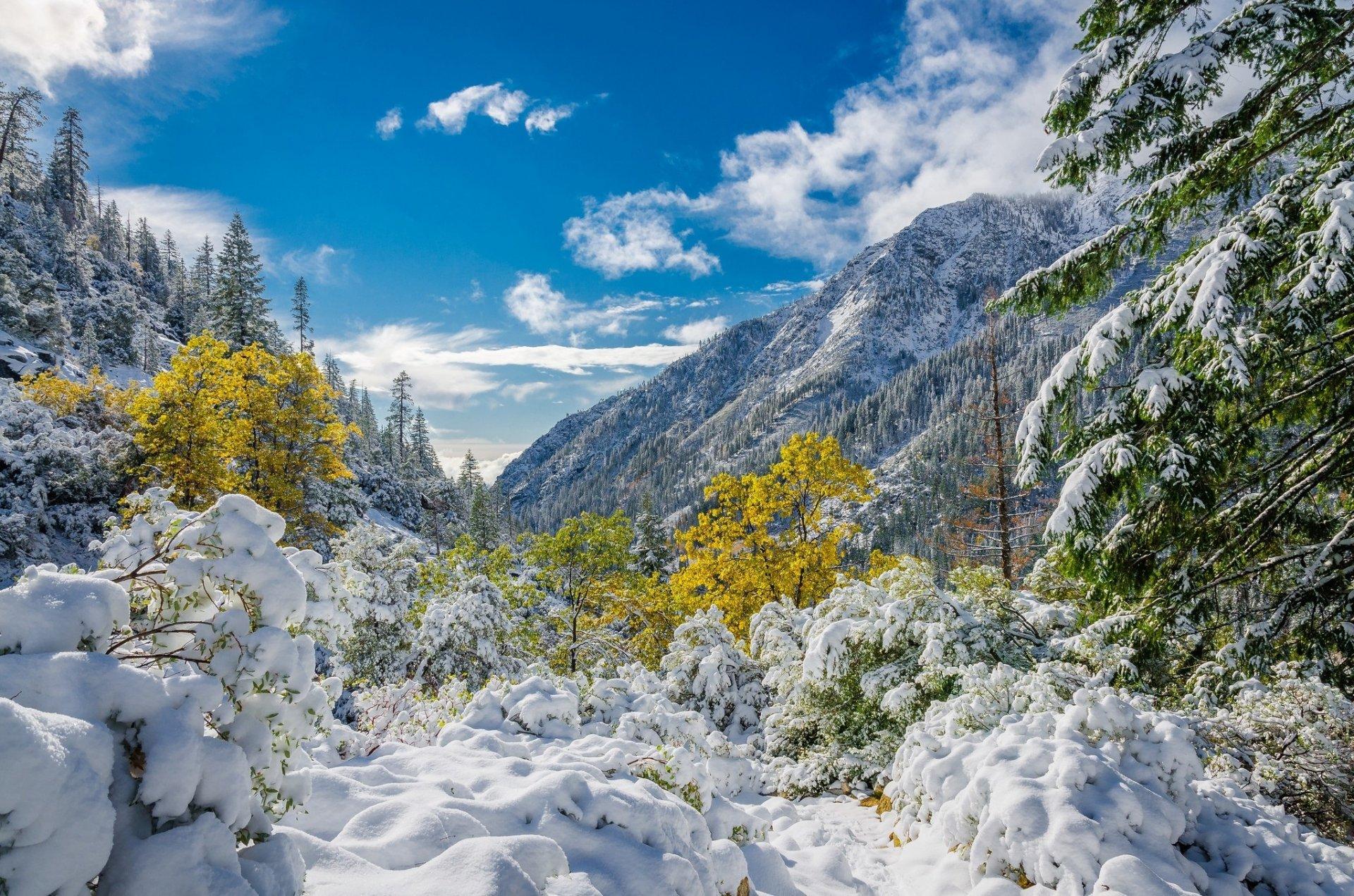 Альпы обои на рабочий стол зима