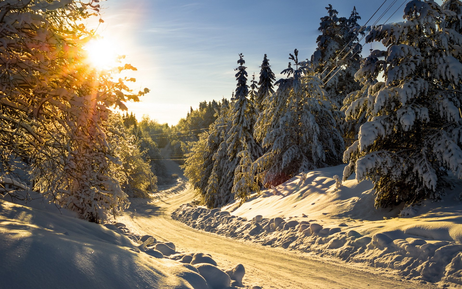 Пейзажи природы зима фото