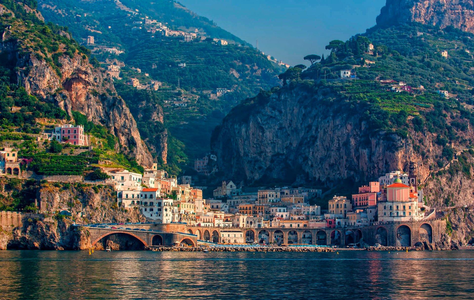 италия картинки море количество различных цветов
