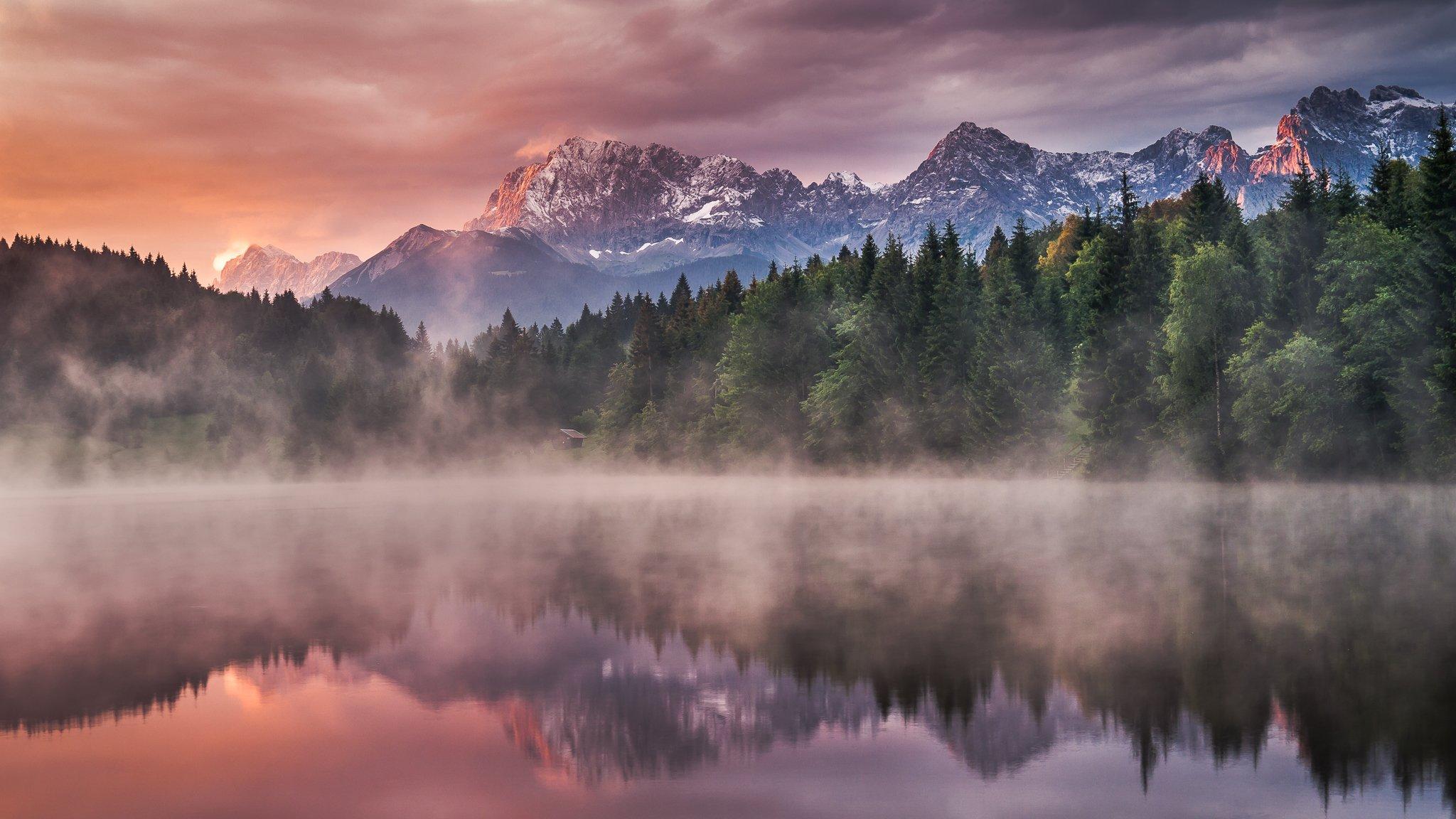 обои туманные пейзажи эти