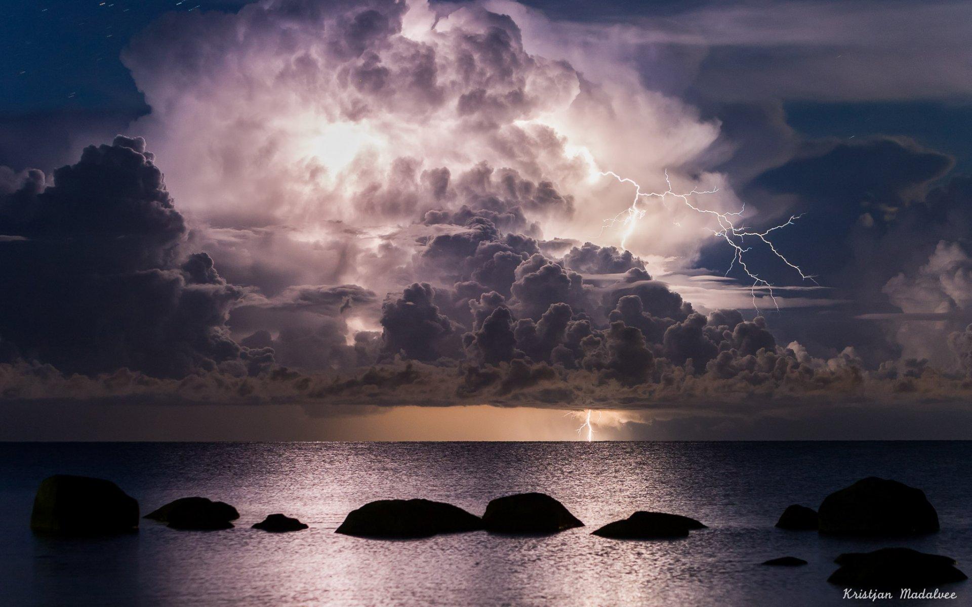 картинки неба с морем в ночи эти