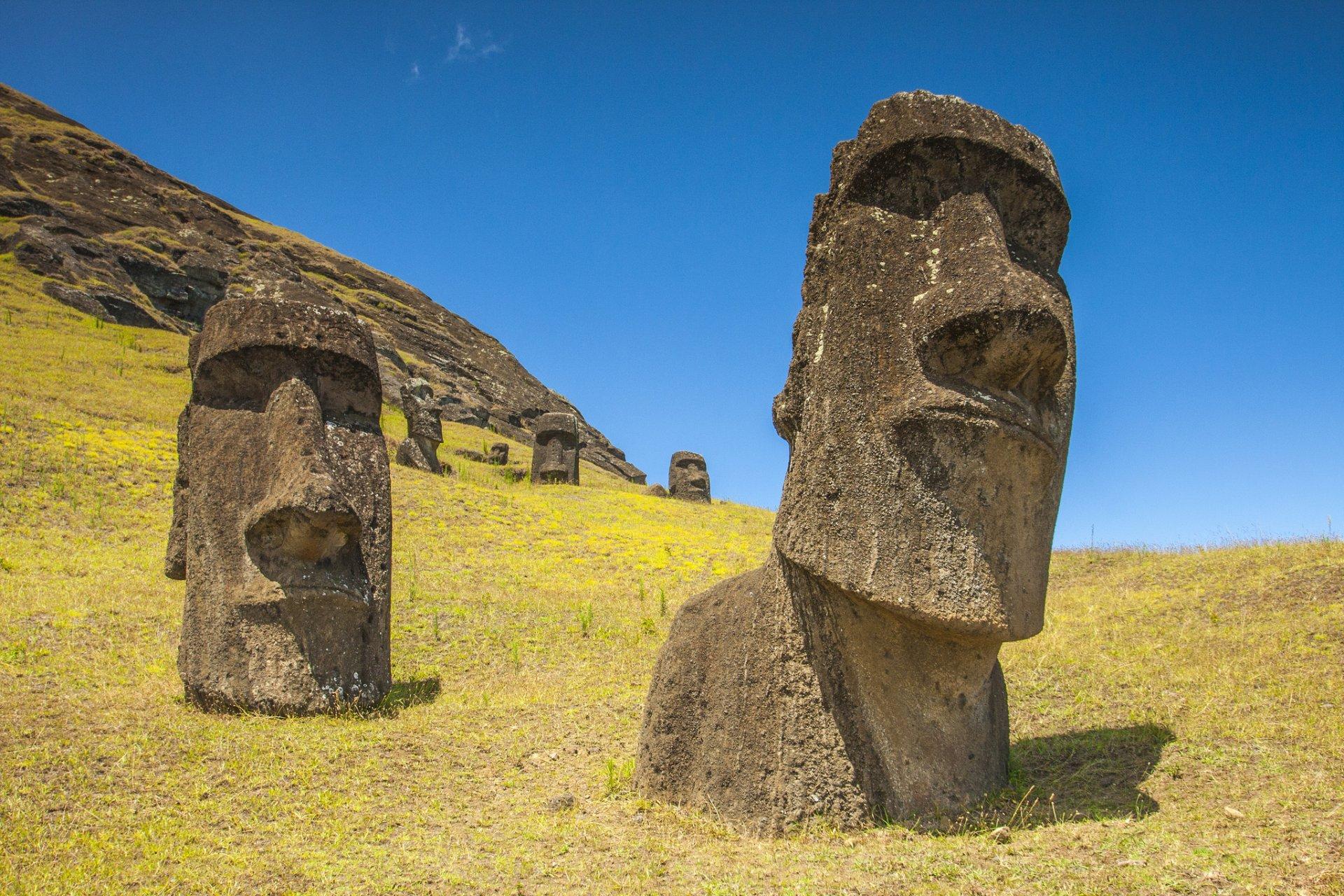 Статуя с острова пасхи