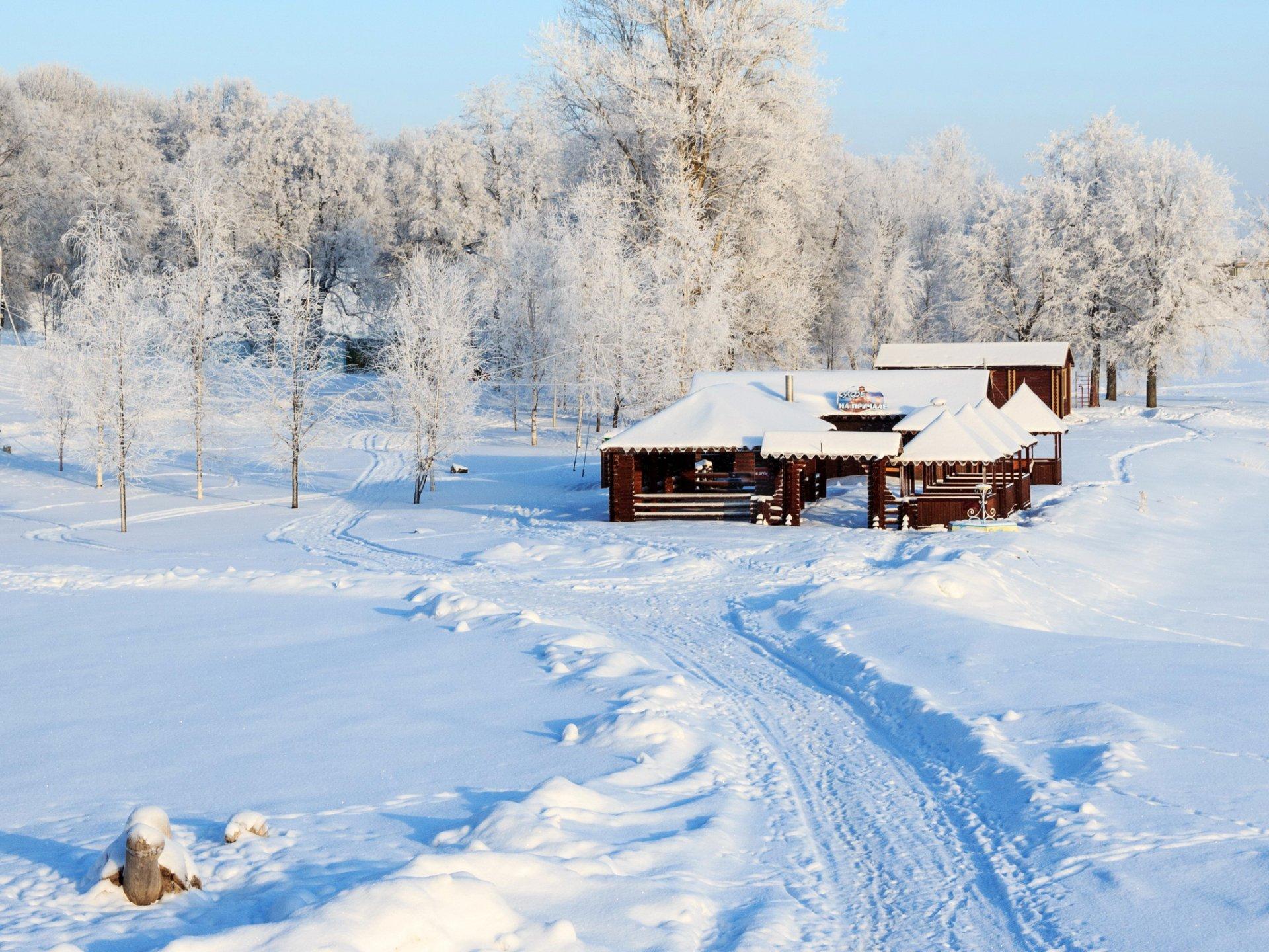 все снежная зима в россии фото расположены