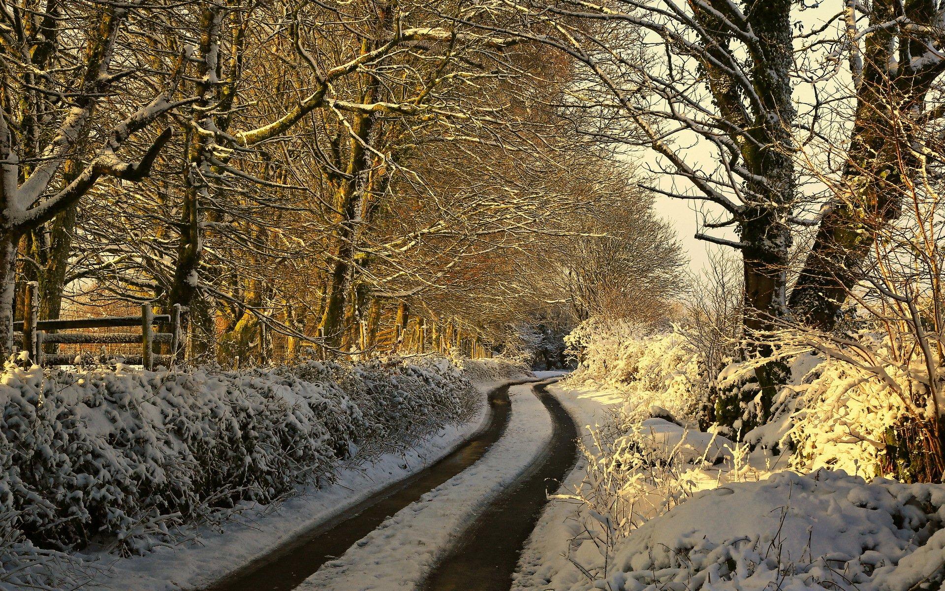 Дом зима дорога снег скачать