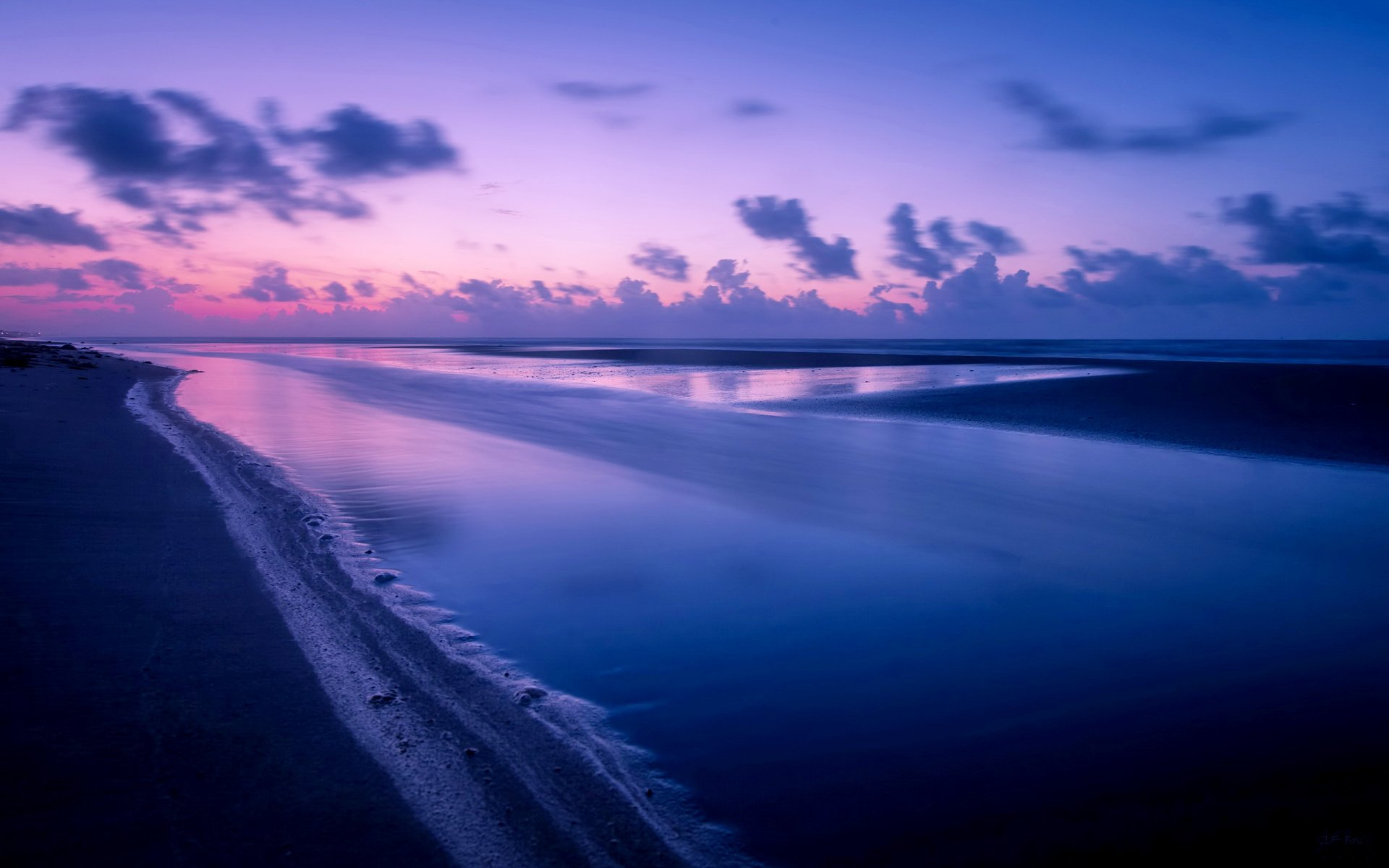 Красивые картинки море ночное