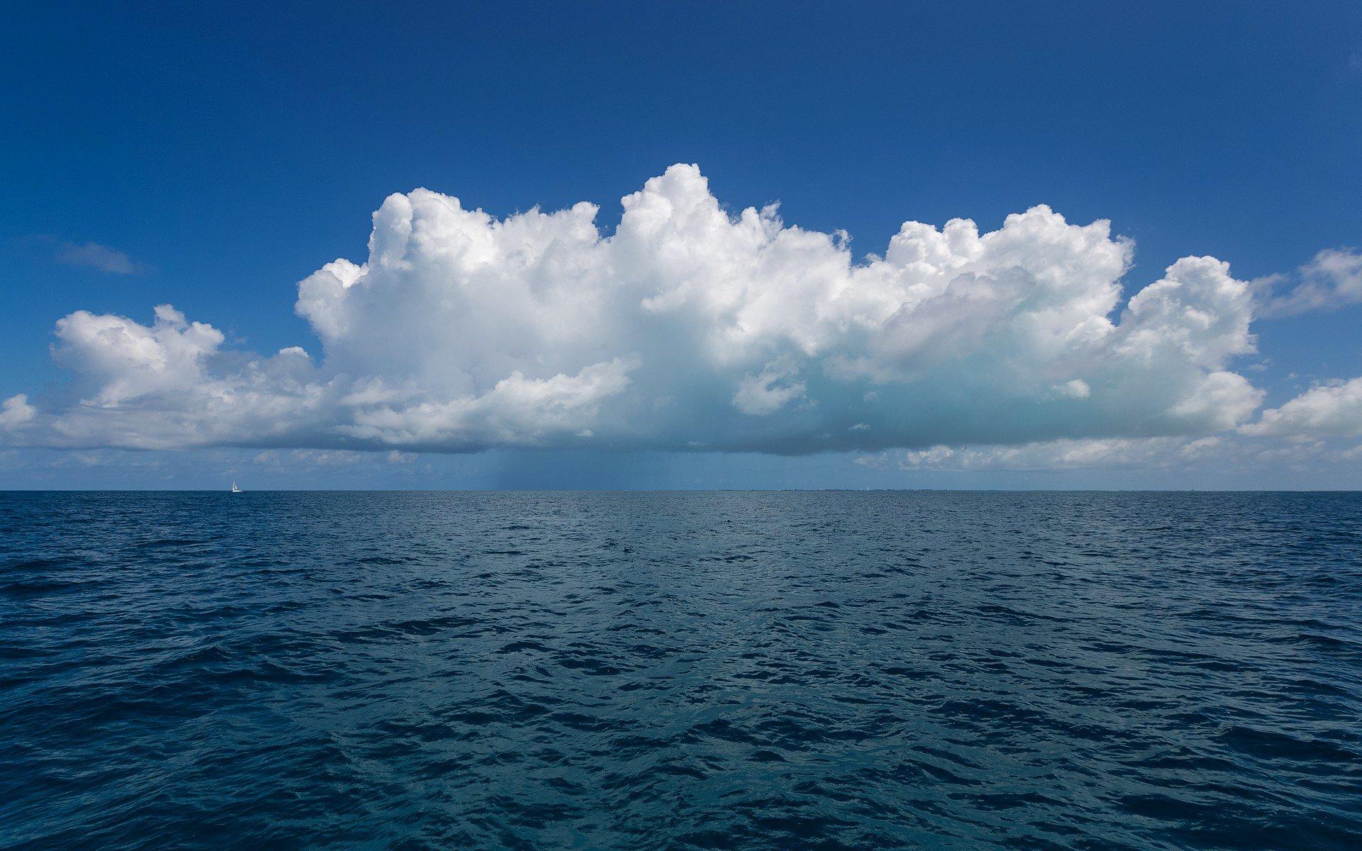 Горизонт над морем  № 274275 бесплатно