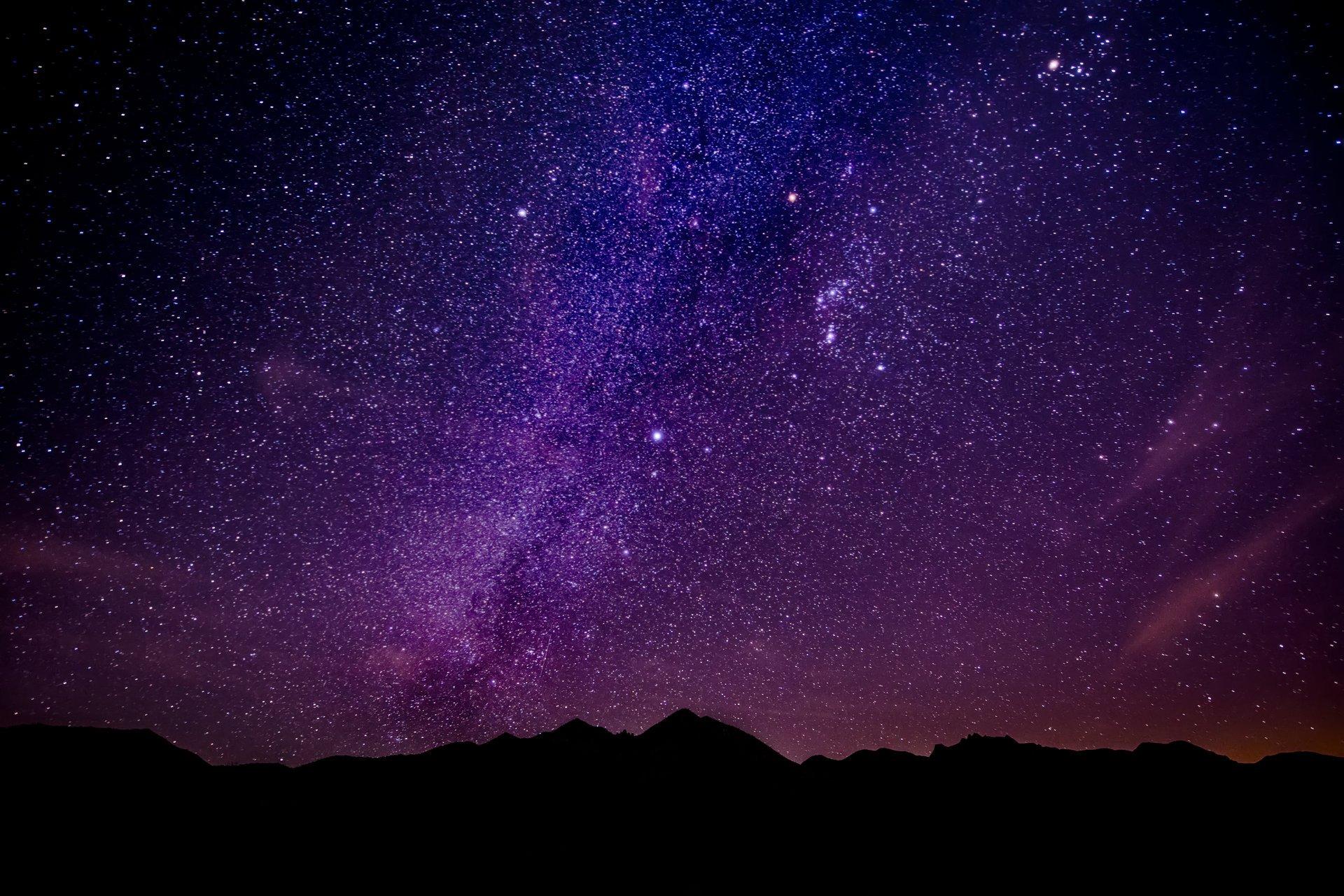 небо звезды фото для рабочего стола аналогичной
